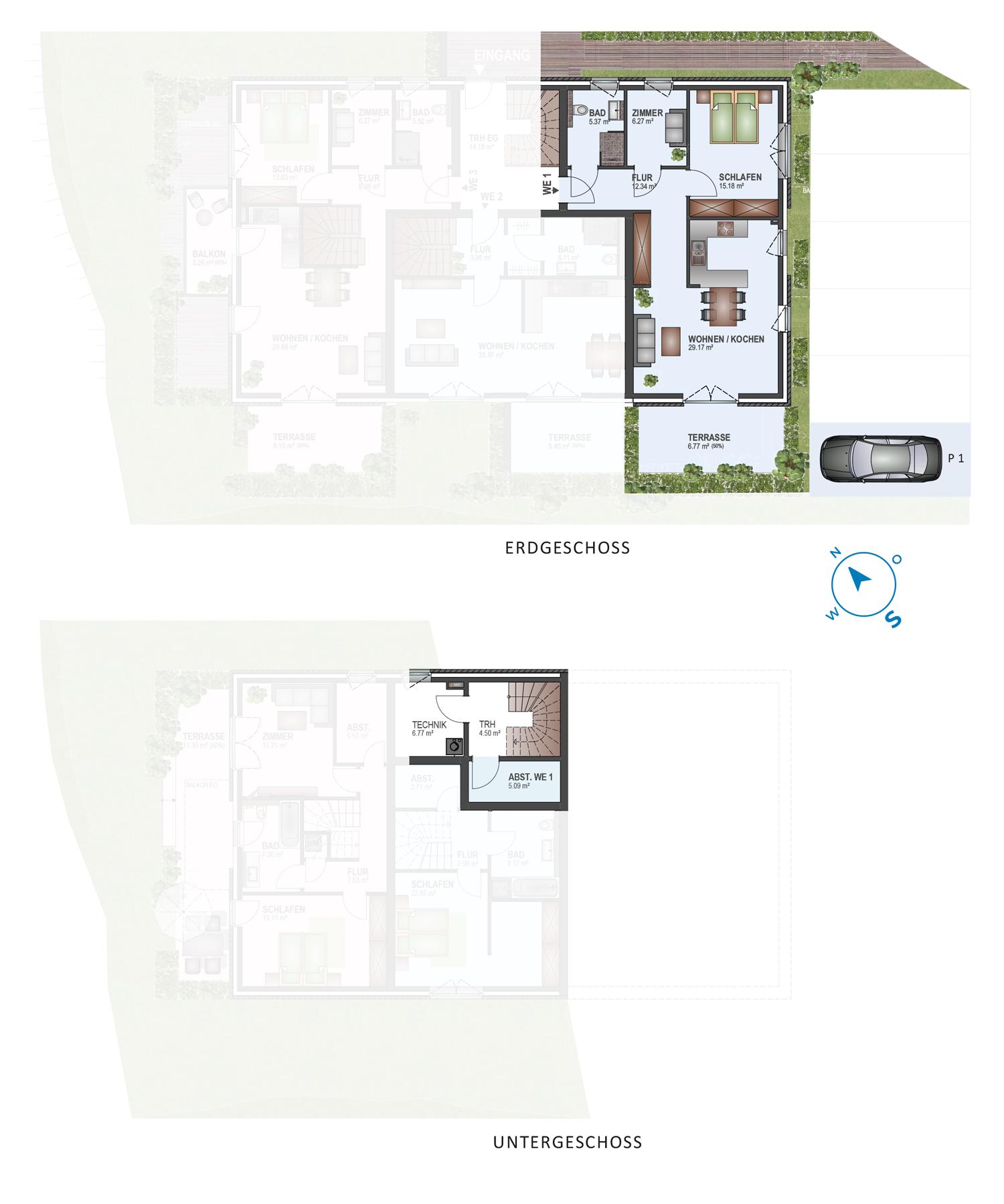 Scholtz Immobilien Grömitz Oldenburger Str - Wohneinheit 1