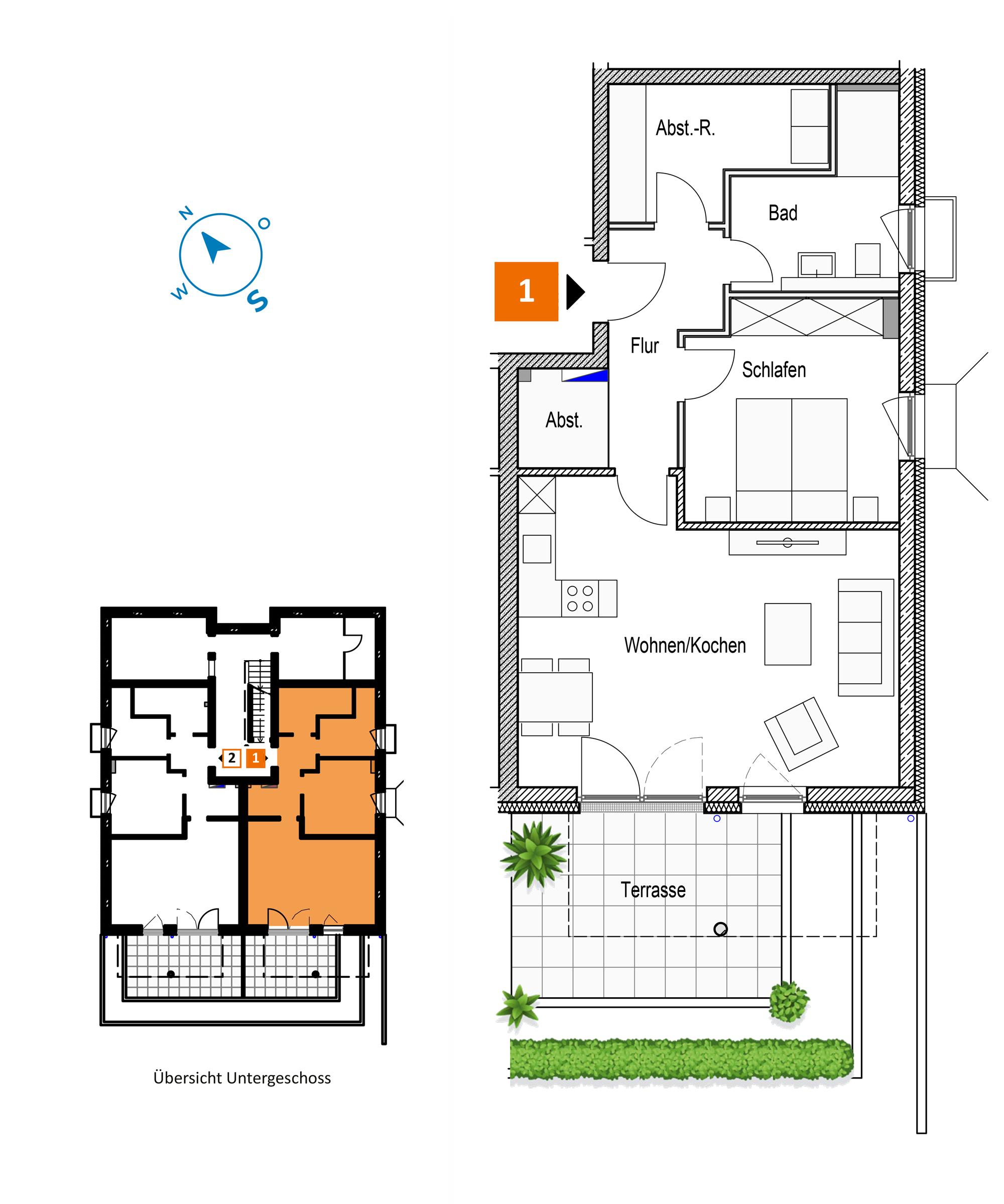 Scholtz Immobilien Grömitz Brookgang 46 - Wohnung 1