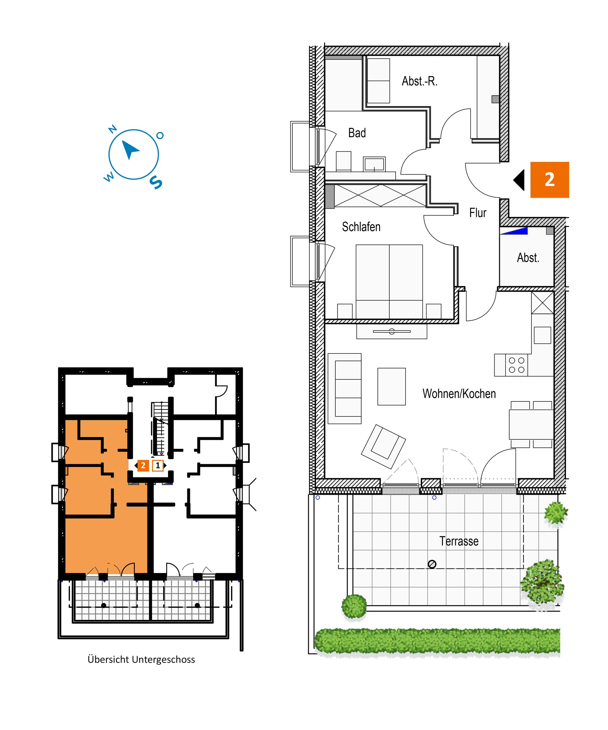 Scholtz Immobilien Grömitz Brookgang 46 - Wohnung 2