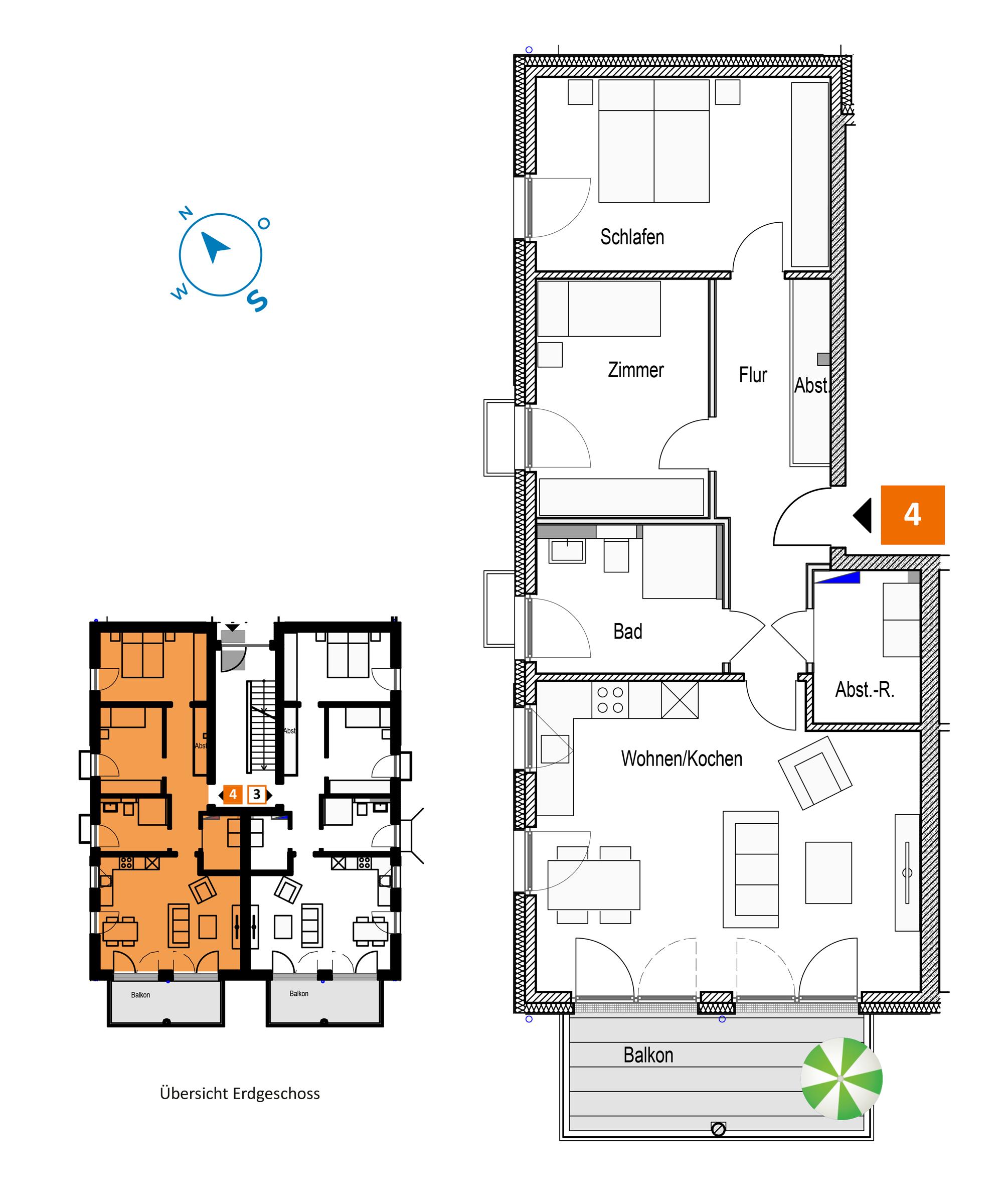 Scholtz Immobilien Grömitz Brookgang 46 - Wohnung 4