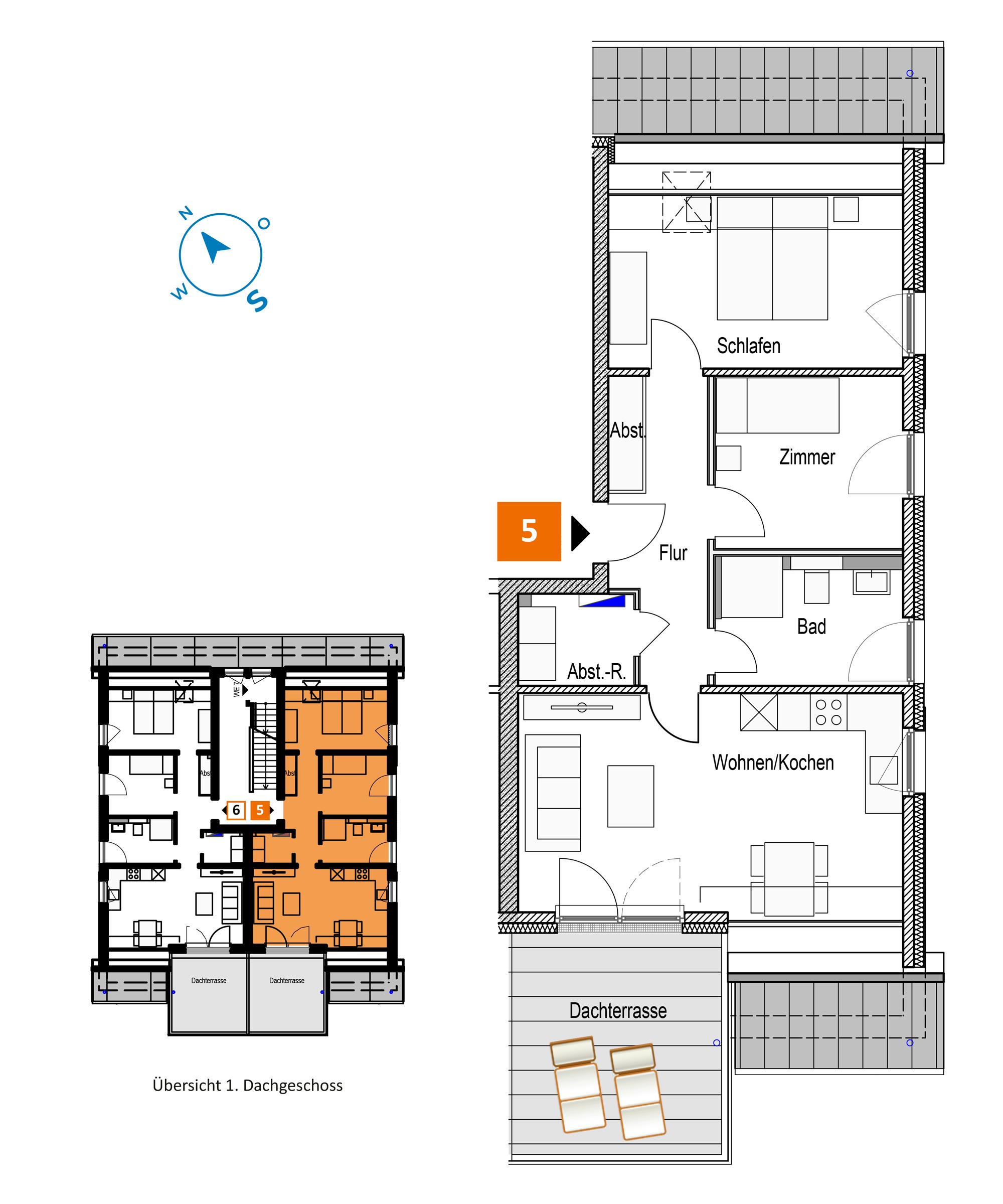 Scholtz Immobilien Grömitz Brookgang 46 - Wohnung 5