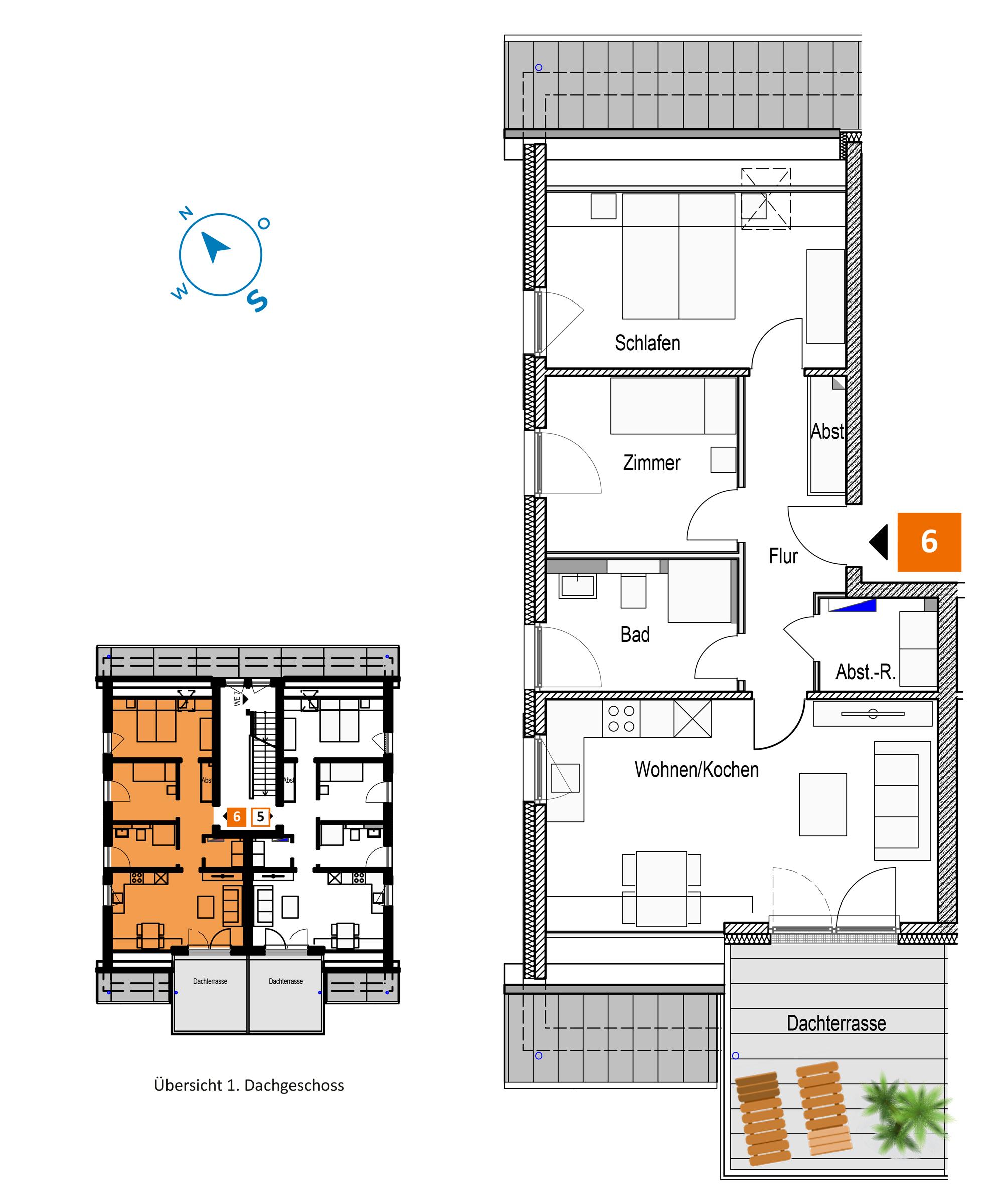Scholtz Immobilien Grömitz Oldenburger Str - Wohnung 6